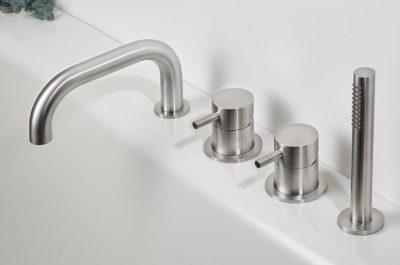 STIRIANA -Deck mounted bathtub set